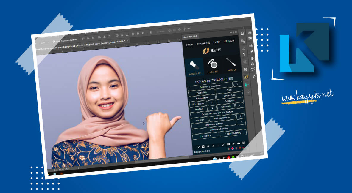 download beautify panel for photoshop