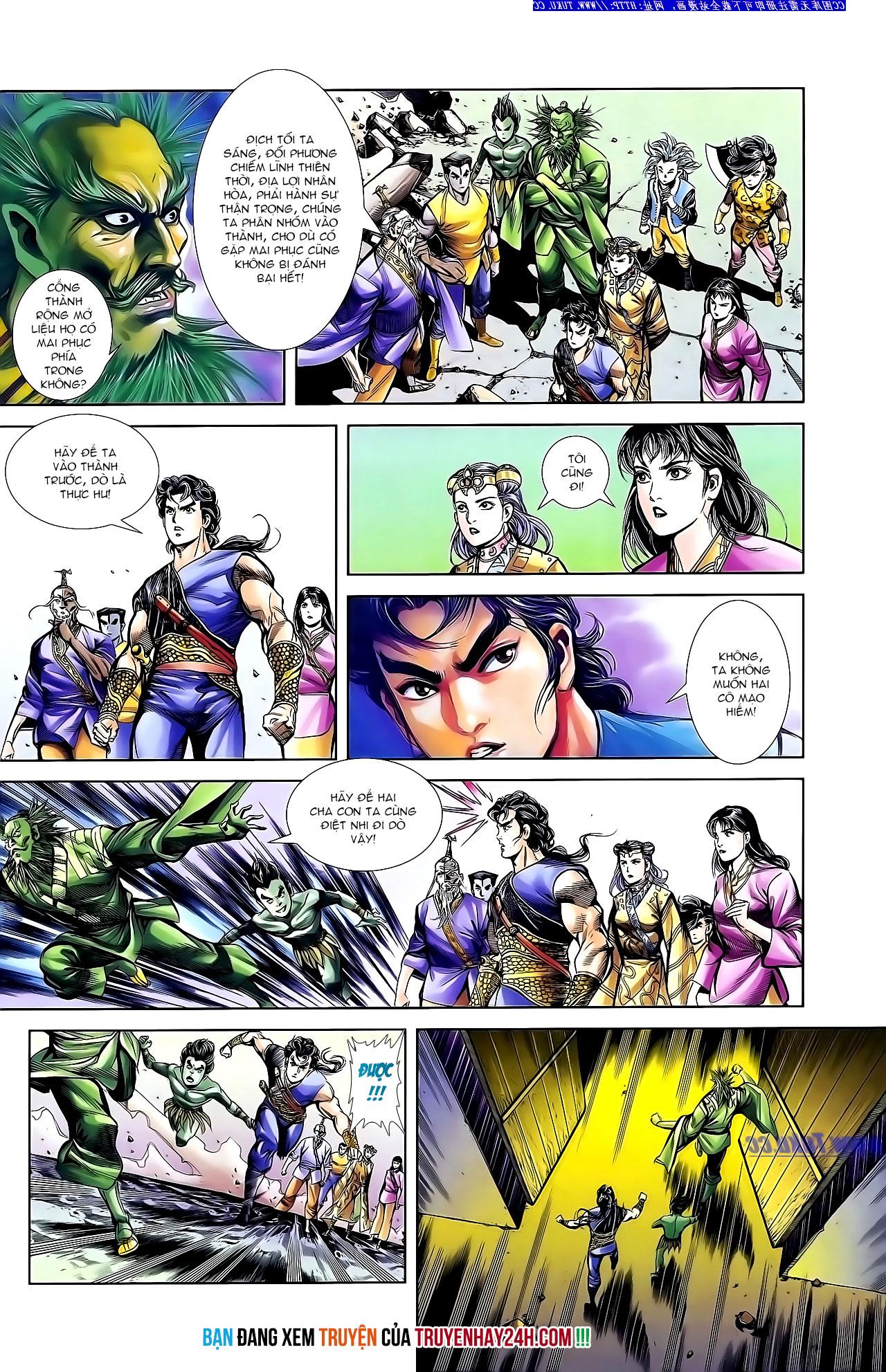 Cơ Phát Khai Chu Bản chapter 141 trang 30