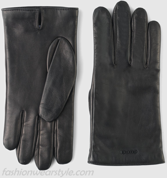 Butter Soft Leather Gucci Gloves For Women/Men 2016-17 www.fashionwearstyle.com