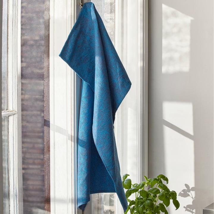 Niebieski ręcznik