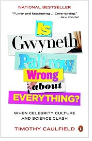 Book cover image Title formed with words torn from papers Is Gyneth Patrow Wrng about everything?