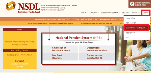 NSDL-NPS Account