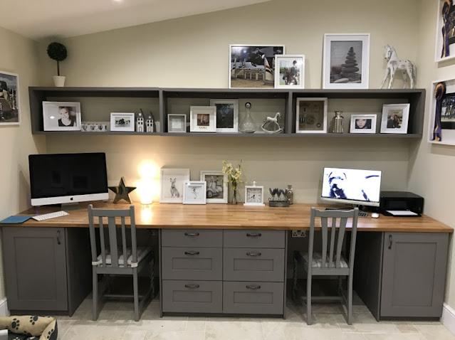 best home office craft room design ideas image