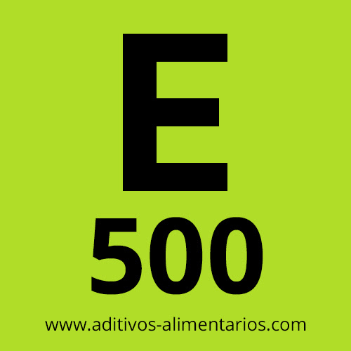 E500 - Carbonatos Sódicos