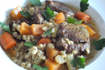 ... Scrummy Food For Families: Comforting Lamb and Pearl Barley Stew