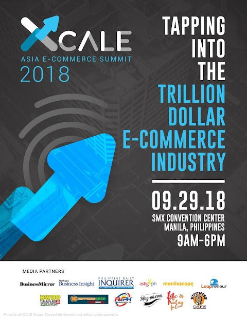 xCALE: Asia e-Commerce Summit 2018 - Discover the Trillion Dollar Industry!