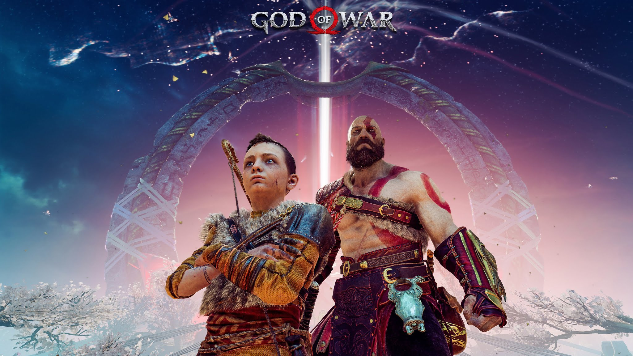 God Of War 4 Fan Art Game