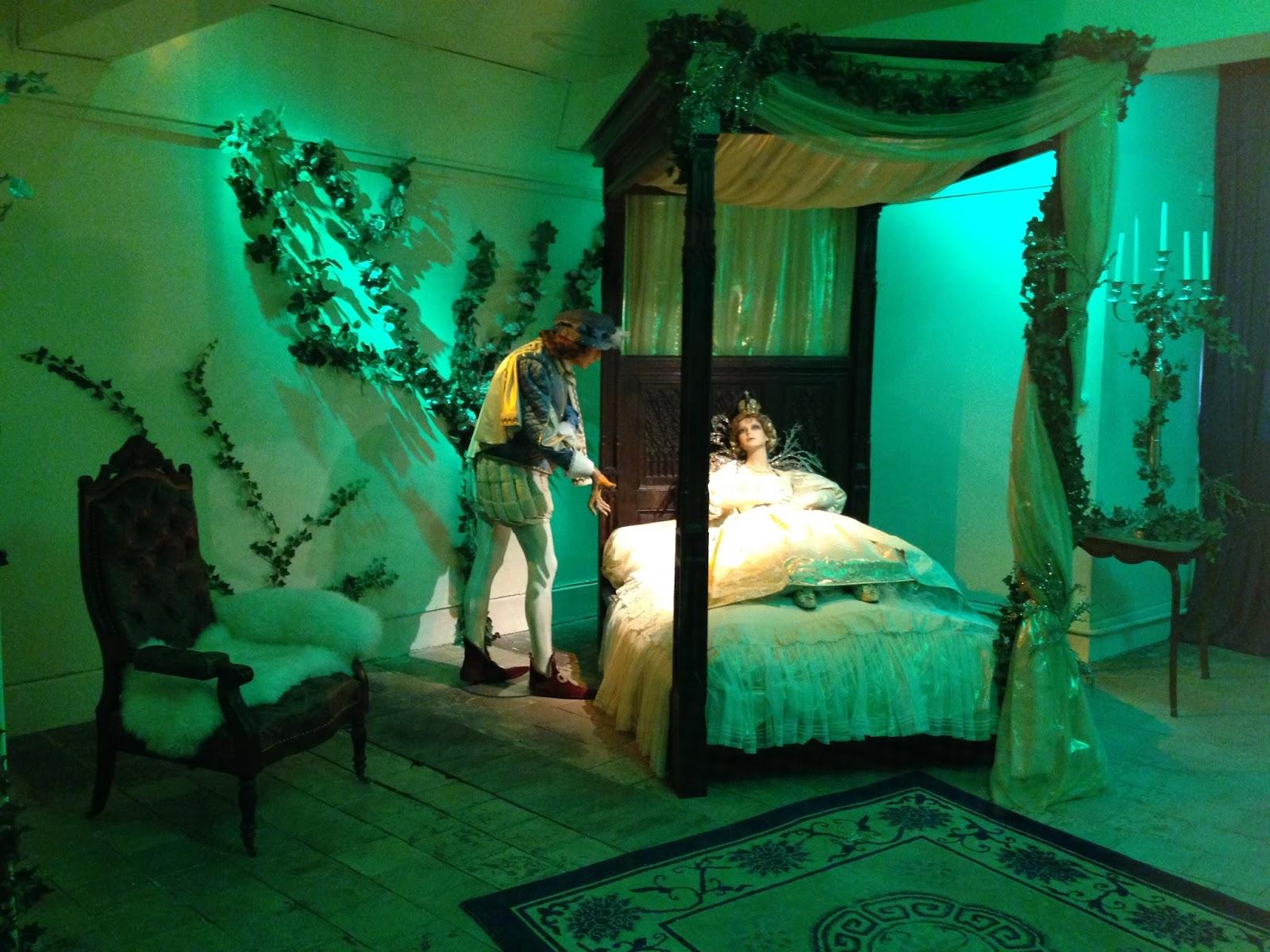 zamek w Usse, śpiąca królewna