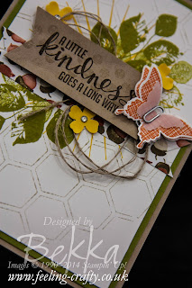Kinda Eclectic Card as inspired by Stampin' Up! Europe Convention