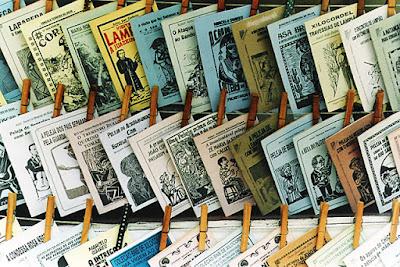 BLOG LUGARES DE MEMÓRIA -  Matéria sobre Literatura de cordel - Foto Diego Dacal