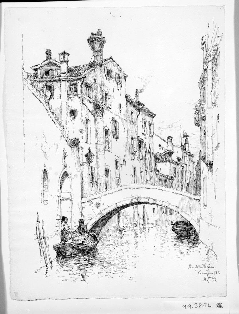 11-Rio-della-Verona-Venice-1883-Andrew-F-Bunner-Venice-Urban-Architectural-Drawings-from-the-1800s-www-designstack-co