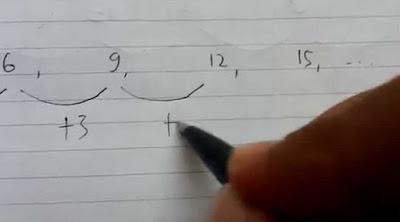 Contoh Soal Psikotes Matematika Deret Angka dan Jawabannya