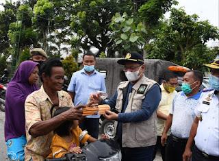 Pjs Bupati Sergai Sosialisasi Prokes di Lokasi Wisata