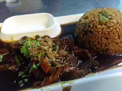 nasi goreng daging black pepper
