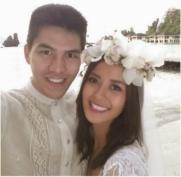Bianca Gonzalez and JC Intal now married