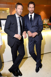 Gerard Butler and Aaron Eckhart