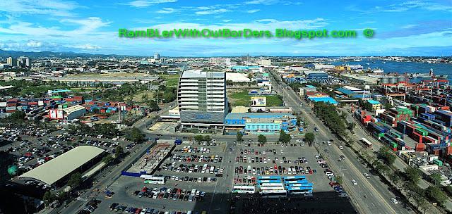 Aerial view, Radisson Blu Hotel, Cebu, Philippines