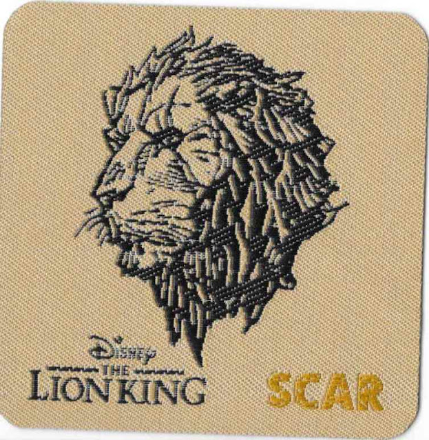 Disney's The Lion King Patch Scar