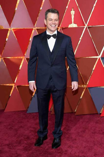 Matt Damon at 89th Annual Academy Awards