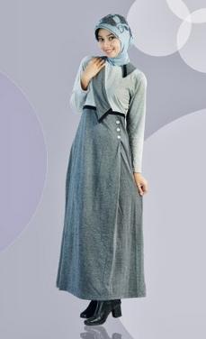 Aneka desain baju kerja muslim populer 2015