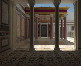 Nero's palace reconstructed