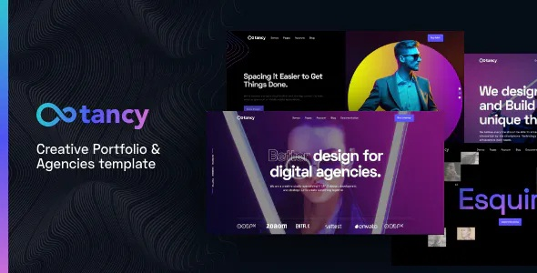 Best Creative Agencies and Portfolio Template
