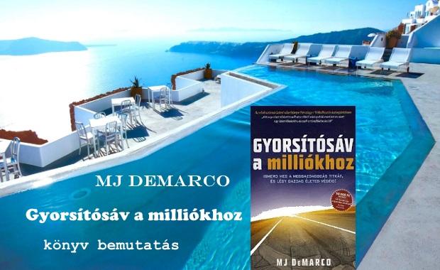 Gyorsítósáv a milliókhoz könyv bemutatás