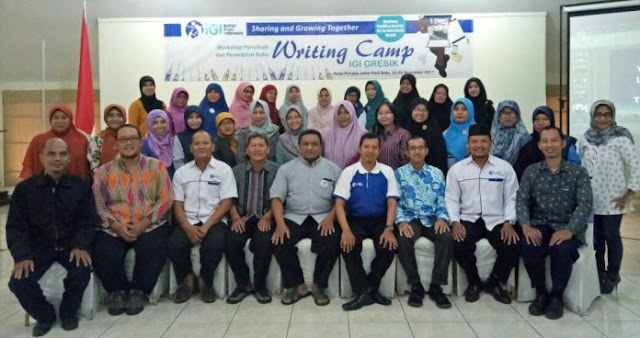 Peringati HGN, IGI Gresik adakan Writing Camp