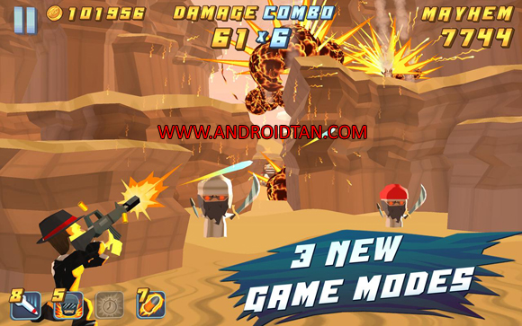Free Download Major Mayhem Mod Apk v1.1.3 (Unlimited Money/Ammo) Android Terbaru 2017