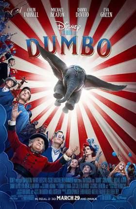 Dumbo 2019 Dual Audio ORG Hindi 950MB BluRay 720p