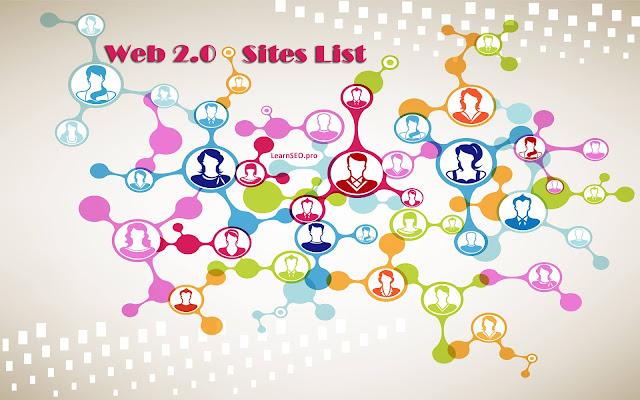 web 2.0 sites seo