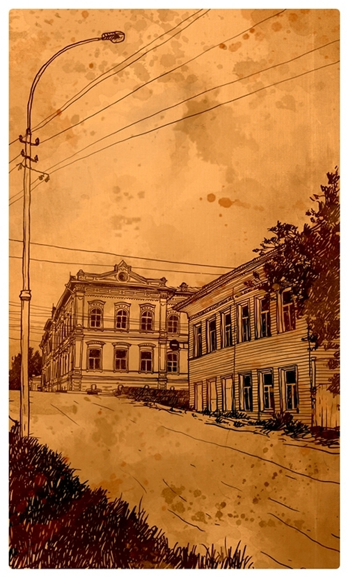 06-Evgeniy-Rodionov-Евгений-Родионов-Architectural-Drawings-with-a-Striking-Background-www-designstack-co