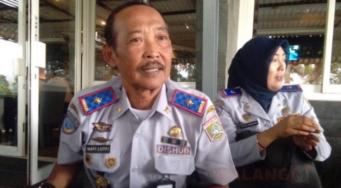 Jalur Menuju Tempat Wisata Ekstrim, Dishub Kabupaten Malang Pasang Banner Sebagai Pengganti Rambu Lalu Lintas