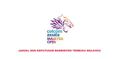 Jadual Live Streaming Badminton Terbuka Malaysia 2020 (Keputusan)