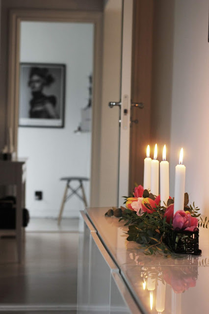 annelies design, webbutik, webbutiker, webshop, nätbutik, inredning, ljusstake, ljusstakar, blommor, tulpan, tulpaner, ljusstake maj,