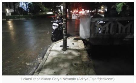Benarkan Rusak Parah?, Ini Kondisi Mobil Novanto Pascatabrakan