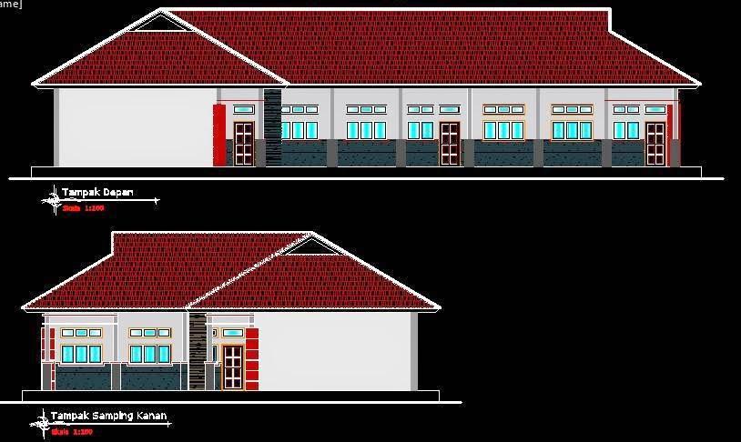 Download Desain Rumah Minimalis Dwg  69 info download denah sekolah autocad