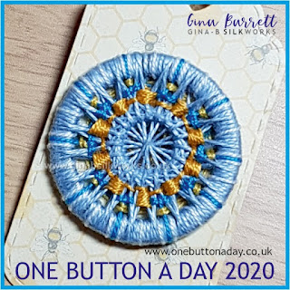Day 193 : Particle - One Button a day 2020 by Gina Barrett