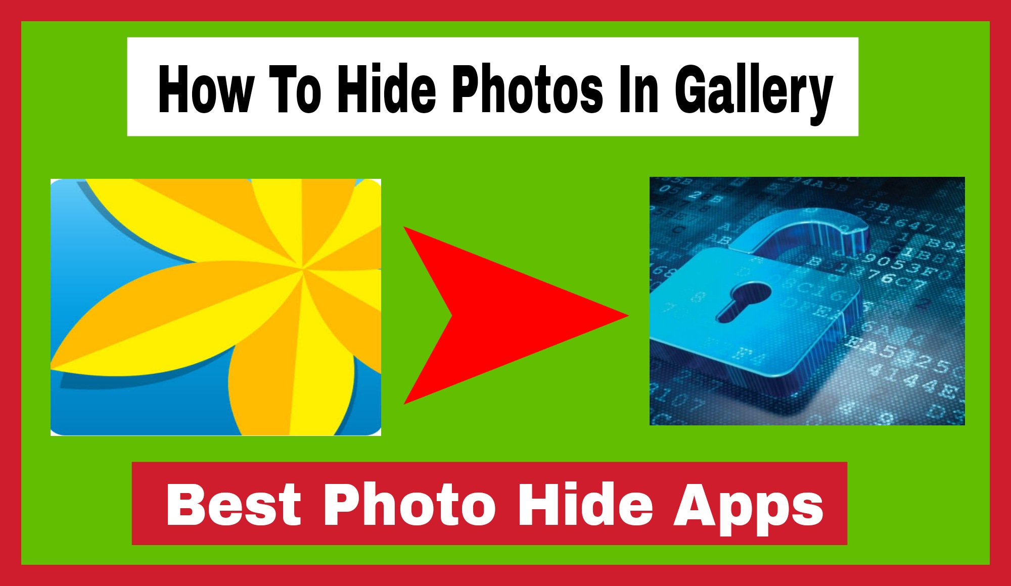 How To Hide Photos In Gallery