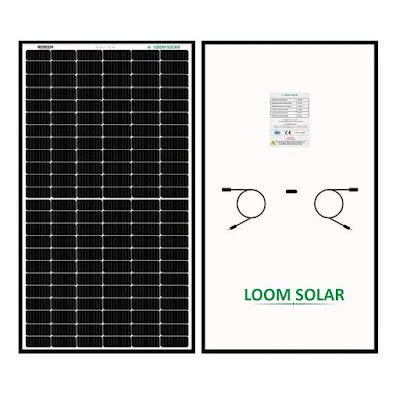 Shark - India's Most Efficient and Best Quality Mono PERC, Half cut cell Solar Panel by Loom Solar