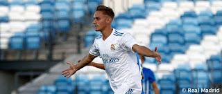 Dani Gómez el hombre gol del Castilla
