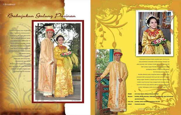 merupakan suku mayoritas yang mendiami daerah provinsi Kalimantan Selatan 4 Pakaian Adat Kalimantan Selatan khas Banjar, Gambar dan Penjelasannya
