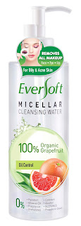 EVERSOFT™ GRAPEFRUIT MICELLAR CLEANSING WATER