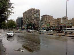 أمطار متوسطة على المدن والقرى الساحلية بالبحيرة..