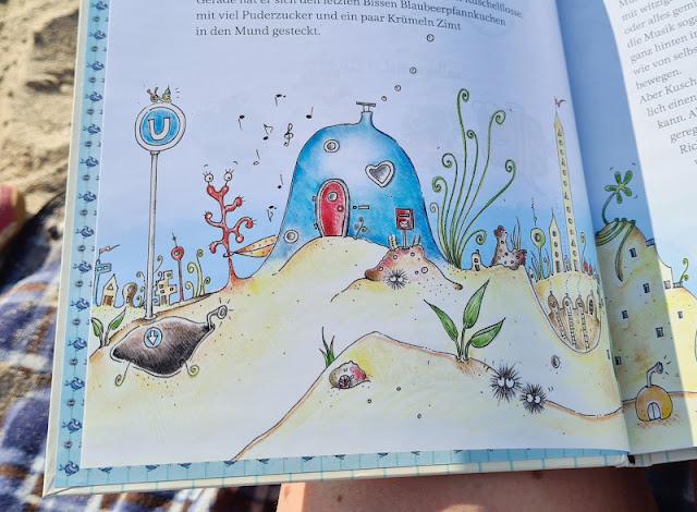 """Ahoi Fischhausen! Die """"Kuschelflosse""""-Kinderbücher und -Hörbücher. Band 1 zeigt die Welt der Fische und ihre Abenteuer im Buch."""