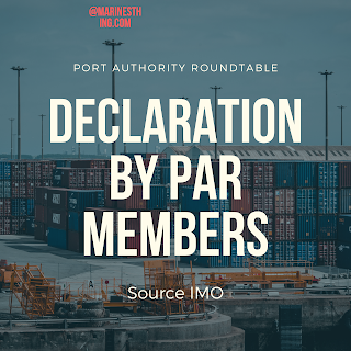 Declaration by Port Authorities Roundtable (PAR) members in view of the global COVID-19 situation