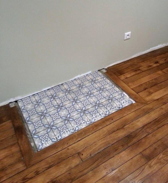 the maison r novation des carreaux de ciment mieux que des neufs la suite. Black Bedroom Furniture Sets. Home Design Ideas
