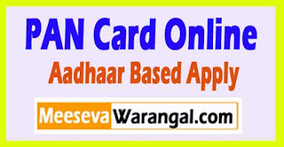 How to Apply for PAN Card Online with Aadhaar Based E-Signature