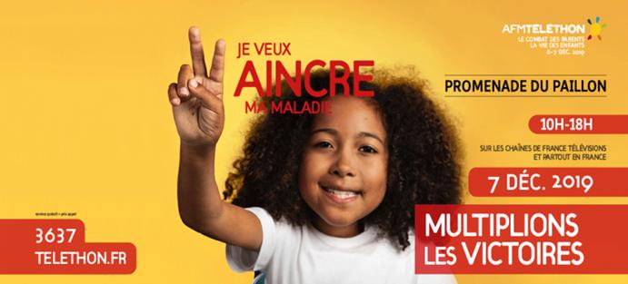 Vendredi 6 et samedi 7 décembre prochain, Nice vivra au rythme des activités proposées par les partenaires associatifs locaux et les bénévoles pour cette édition 2019 du Téléthon.