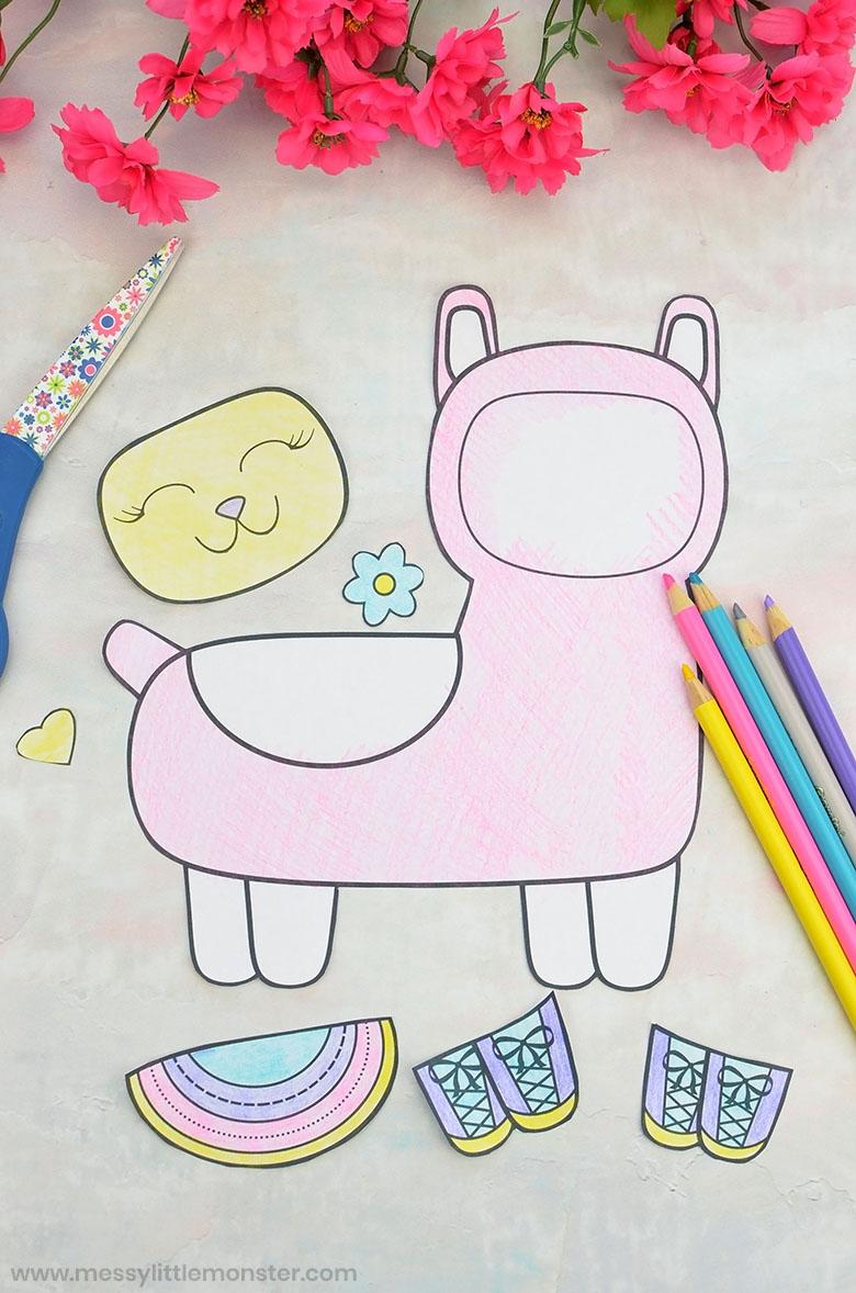 Design your own llama craft